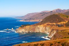 Big Sur and Bixby Bridge Royalty Free Stock Photo