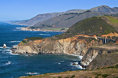 Big Sur, Bixby Bridge, California Royalty Free Stock Image