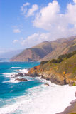 Big Sur CA-1 Highway. Beautiful Big Sur CA-1 Highway Coast stock image