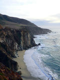 Big Sur, California. A view of the coastline in Big Sur, California, looking south Stock Images