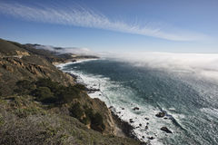 Big Sur, California Foto de archivo