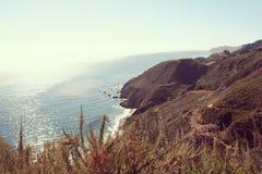Big Sur in California. Stock Image