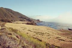 Big Sur in California. Royalty Free Stock Photos