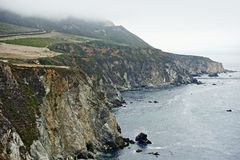 Big Sur California Coast Royalty Free Stock Photography