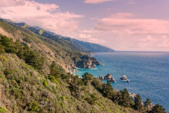 Big Sur California Coast Landscape Royalty Free Stock Photos