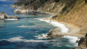 Big Sur California Coastline - Pacific Ocean stock video