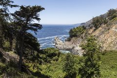 Big Sur California Pacific Coast Stock Photo