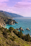 Big Sur California Scenic Landscape Royalty Free Stock Photos