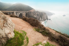 Big Sur California, USA. Monterey royalty free stock photo