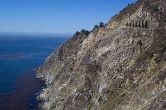 Big Sur Cliff Stock Photos