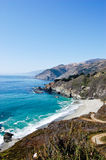 Big Sur Coast 2. This is an image of the Big Sur coastline Royalty Free Stock Photo