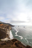 Big Sur Coast at the Bixby Creek Bridge stock photos
