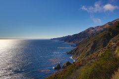 Big sur coast Royalty Free Stock Image