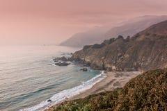 Big Sur Coast Landscape Royalty Free Stock Photos
