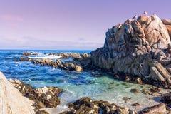 Big Sur Coast Landscape Stock Photo