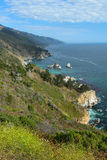 Big Sur coast, near Monterey, California, USA Royalty Free Stock Photo