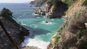 Big Sur Coast stock video footage
