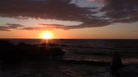Big Sur Coast Sunset stock video