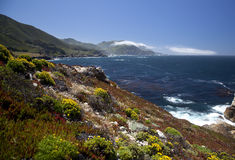 Big Sur Coastline  Stock Photography