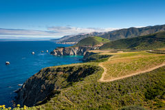 Big Sur Coastline Stock Image