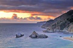 Big Sur Coastline Royalty Free Stock Photos
