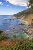 Big Sur Coastline California Royalty Free Stock Photo