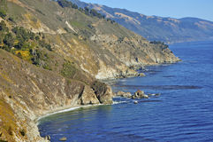 Big Sur Coastline California Royalty Free Stock Photos