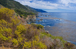 Big Sur Coastline California Stock Image