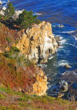 The Big Sur Coastline California Royalty Free Stock Images