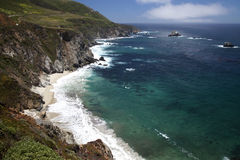 Big Sur Coastline _MG_1927 Stock Photography
