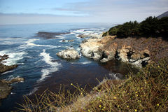 Big sur coastline Royalty Free Stock Photos