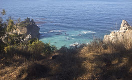 Big Sur Cove. This is a picture of a cove near California's Big Sur cove Royalty Free Stock Images