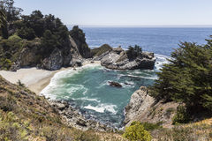 Big Sur Cove Stock Images