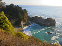 Big Sur cove Stock Photo