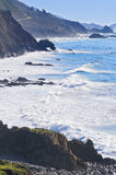 Big Sur Highway, California royalty free stock images