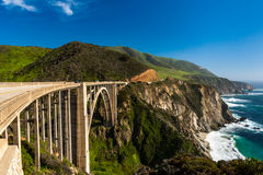 Big Sur Highway 1 Royalty Free Stock Photography