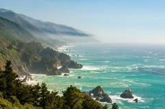 Big Sur Kalifornien 1 arkivfoton