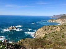big sur Kalifornii Zdjęcia Stock