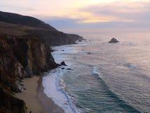 big sur Kalifornii Zdjęcie Stock
