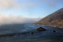 Big Sur, la Californie Images libres de droits