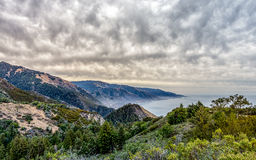 Big Sur Landscape 1 - 15mm-Pano Royalty Free Stock Photography