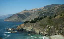 The Big Sur in Northern California USA Royalty Free Stock Photo