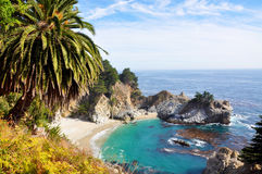 Big Sur ocean beach Stock Photography