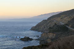 Big Sur. Pacific coast highway near Big Sur on California coast Stock Photos