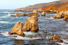 Big Sur Pacific Ocean coast Stock Photography