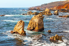 Big Sur, Pacific Ocean coast Royalty Free Stock Photo