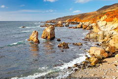 Big Sur, Pacific Ocean coast Stock Photos