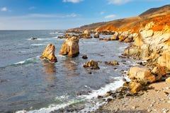 Big Sur, Pacific Ocean coast. Pacific Ocean coast, California, USA stock photos