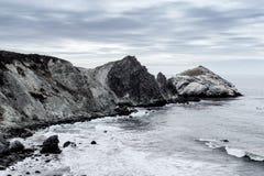 Big Sur, Pazifikküste-Landstraße Stockfotos