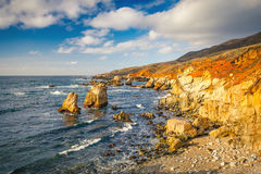 Big Sur rocks Royalty Free Stock Photography